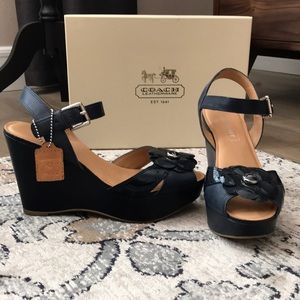 Coach wedges Poppy collection